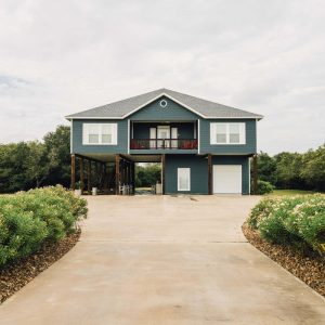 Outside Building View of The Reef Suites | Bay Flats Lodge Texas | Texas Coast Lodge