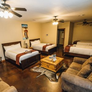 Bedroom in the Pintail Suite | Bay Flats Lodge Texas | Luxury Texas Lodge
