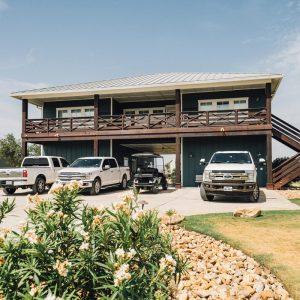 Outside Building view of the Main Lodge | Bay Flats Lodge Texas | Texas Coast Lodge