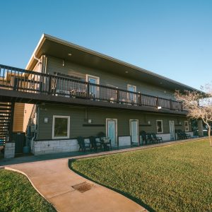 Outer view of The Flounder Suite | Bay Flats Lodge