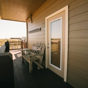 The Teal Suite Front Deck
